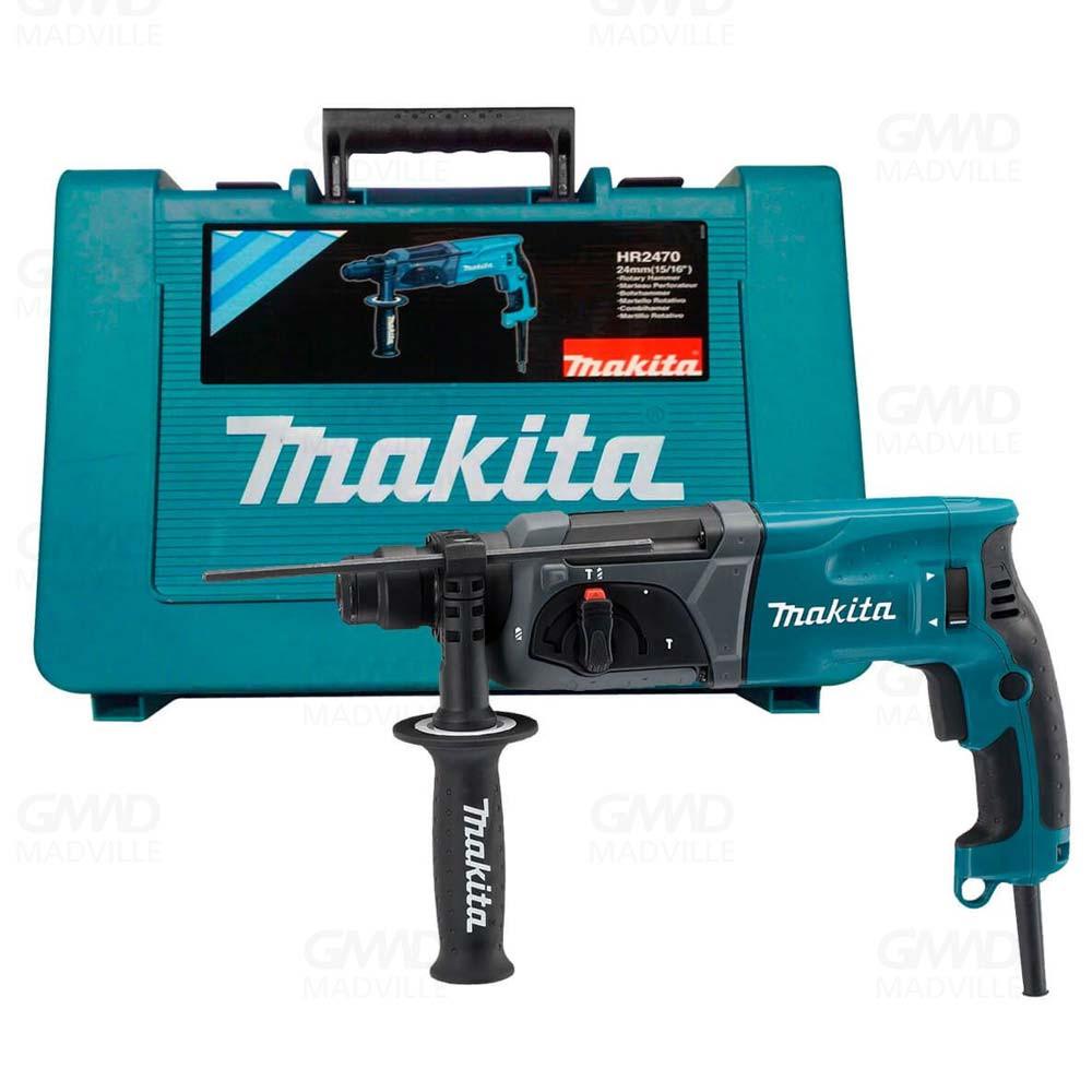 Martelete Combinado 24Mm 800W 220V Hr2470 Makita