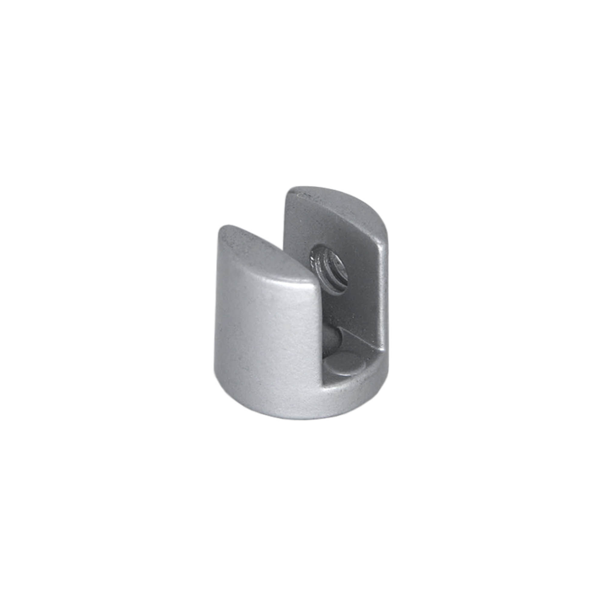 Suporte U para Vidro 10mm Fosco - Fama
