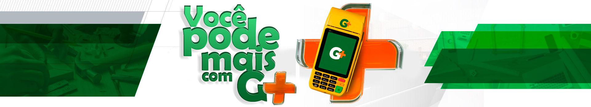 Você pode mais com G+. Maquininha cartão de crédito para marceneiros