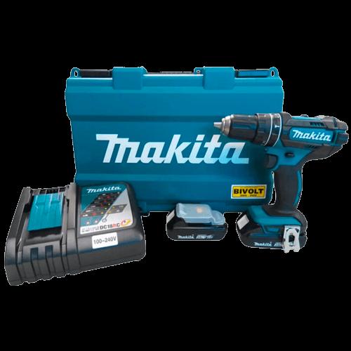Parafusadeira/Furadeira de Impacto- Makita DHP482RAE